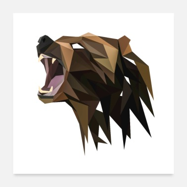 Shade Shaded bear - Poster