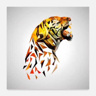 Origami Origami: loud tiger - Poster