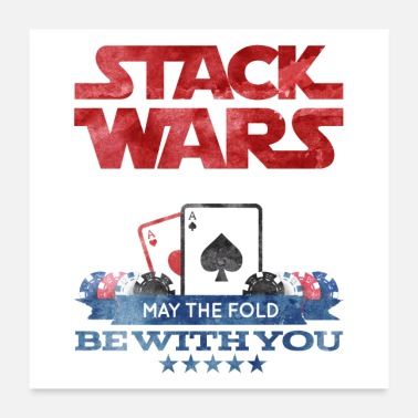Bluff Poker Stack Wars - Poster