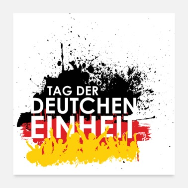 Germanere Day of German Unity - Poster