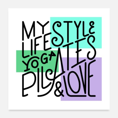 Lifestyle Lifestyle poster - Poster