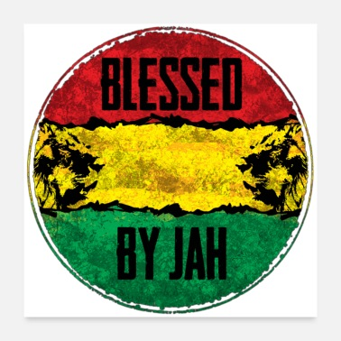 Jamaica blessed by jah - Poster