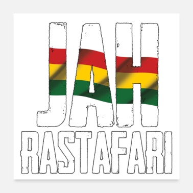 Movement jah rastafari reggae - Poster