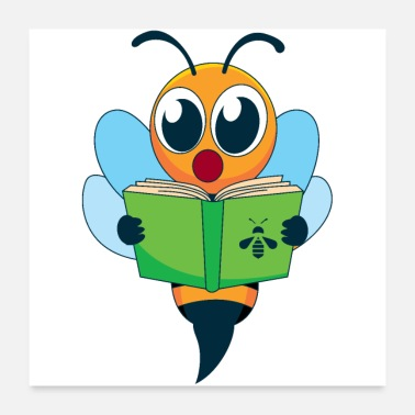 Read Reading is the bee hobby - Poster
