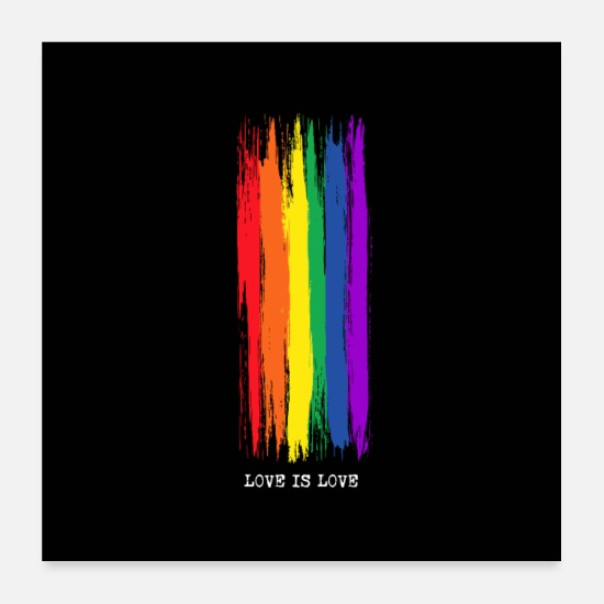 Gay Pride Posters - Love is Love - Gay Pride Poster Mobile Phone Case - Posters white