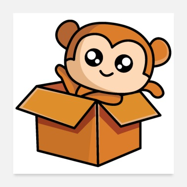 Mail Monkey by mail - Poster