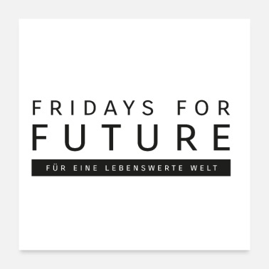 Friday fridays for future - Poster