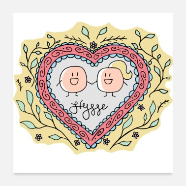 Chubby Hygge - Forever Love - Poster