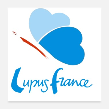 Association logo lupus france - Poster