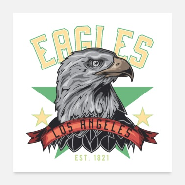 Los Angeles Eagle, Los Angeles, VS, trots - Poster