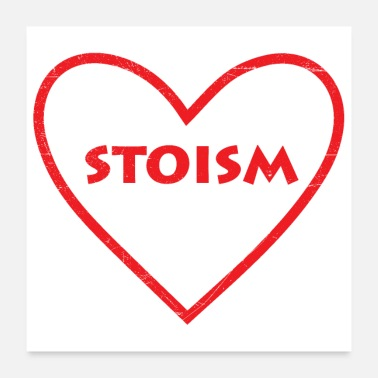 Søster Love Stoic Stoic Stoicism Gift Idea - Poster