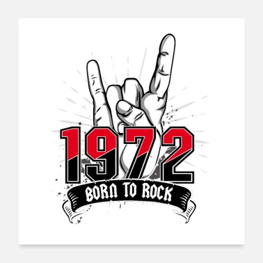 Instrument Born To Rock 1972 - Poster