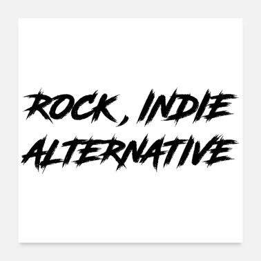 Indien ROCK, INDIE, ALTERNATIV - Poster
