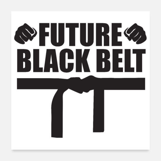 Aikido Posters - Martial Arts Future Black Belt Gift Idea - Posters white