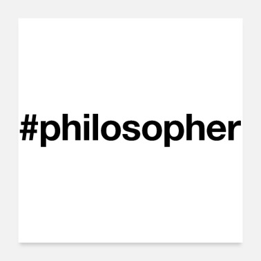 Education Culture PHILOSOPHER - Poster