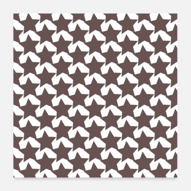 Stars Star pattern Star pattern Sweet star pattern - Poster