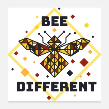 Be Different bee different - Poster