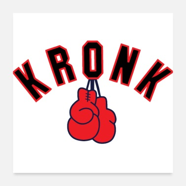 Detroit Kronk Boxing Gym Gloves Detroitgym - Póster