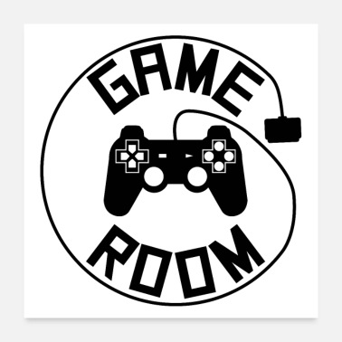 Controller Game room poster - Poster