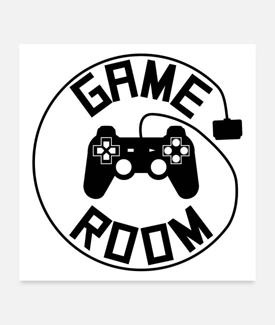 Play Posters - Game room poster - Posters white