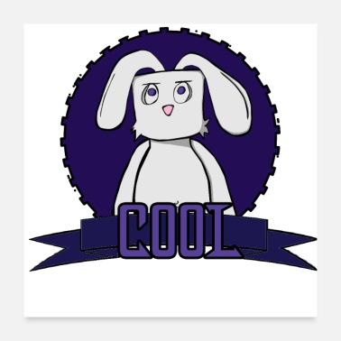Cool Rabbit-Cool - Poster