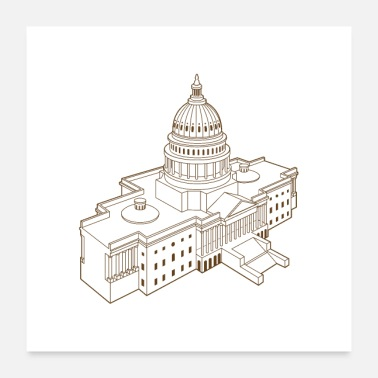 State United States Capitol - Poster