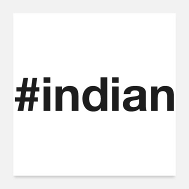 Indianere INDIAN - Poster