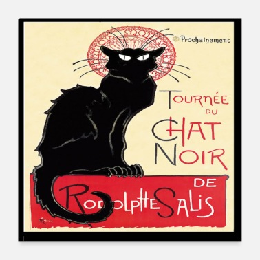 Populaire Black Cat Tour - Poster