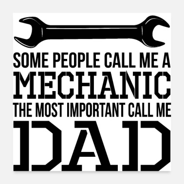 Mechaniker Mechaniker DAD - Poster
