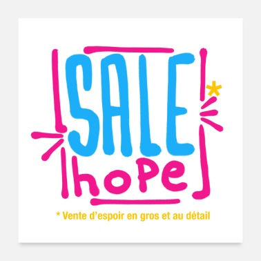 Sale Hope for sale - Poster