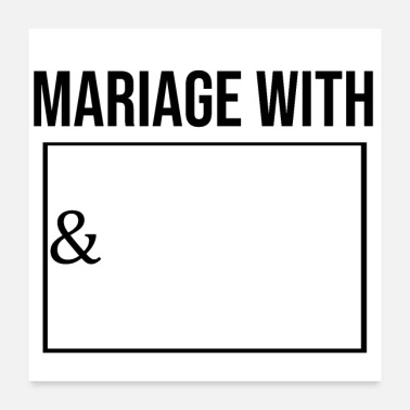 Marriage Marriage with this person - Poster