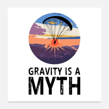 Para Gravity is a Myth - Gravitation ist ein Mythos - Poster