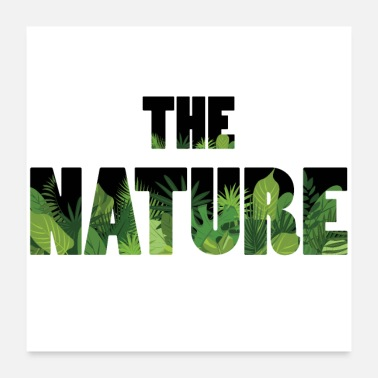 Nature Conservation nature - Poster