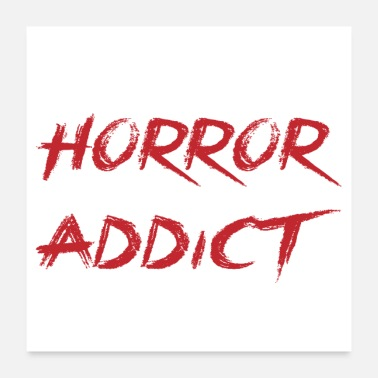 Horror Horror Addict - Movie - - Poster