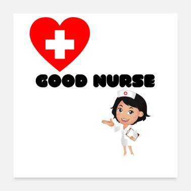 Ambulance Good nurse - Poster