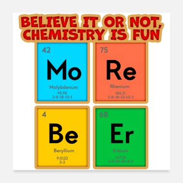 Chemistry Chemistry is fun - Poster