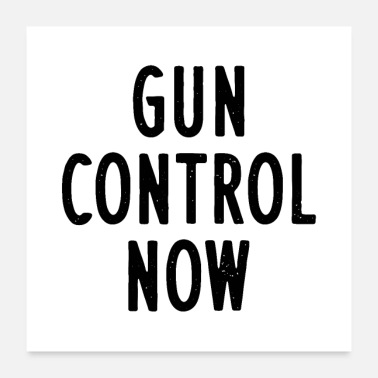Amendment Gun Control Now - Poster