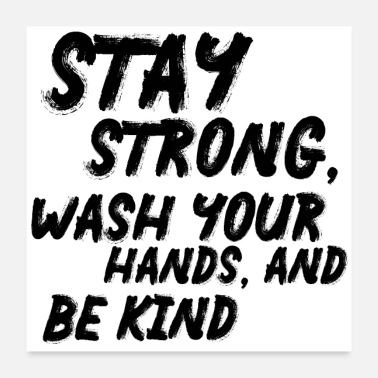 Strong Motivationsposter Stay Strong Poster - Poster