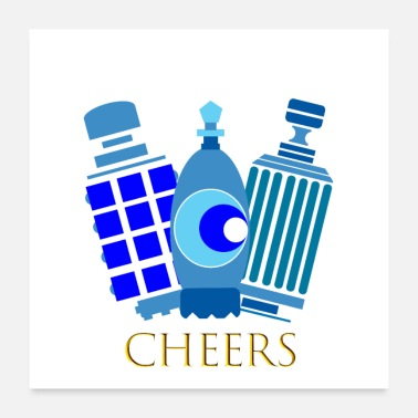 Cheerful cheers - Poster