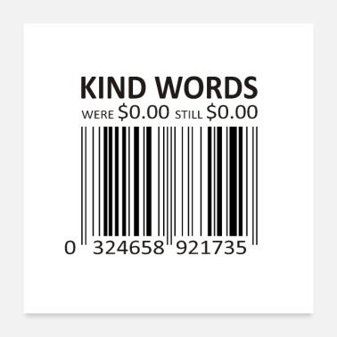 Kind KIND WORDS - Poster