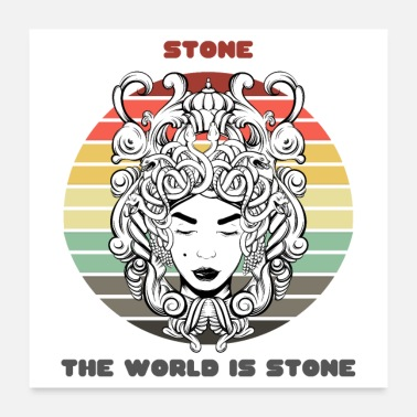 Stoner Sunset Gorgon / Stone, The World Is Stone - Poster