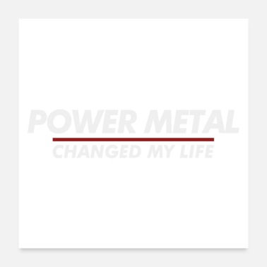 Power Metal Power Metal changed my life - Poster