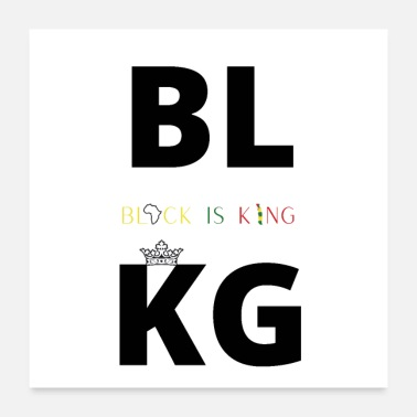 Is BLACK IS KING - Poster