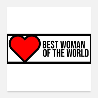 World's Best best woman in the world - Poster