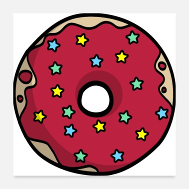Starlet Red donut gift idea partner look - Poster