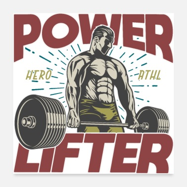 Building Power lifter - Poster