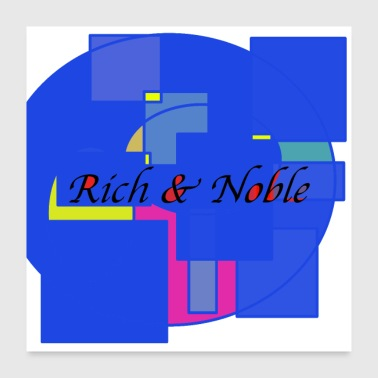 Stylish design rich and noble - Poster 24 x 24 (60x60 cm)