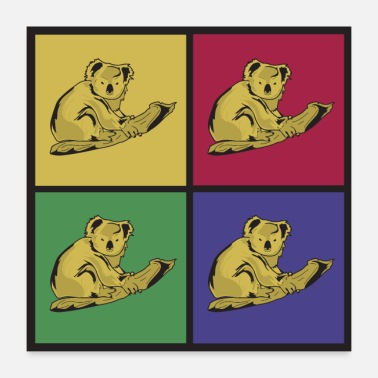 Voornaam Koala's Pop Art Koala Small-Animal - Poster