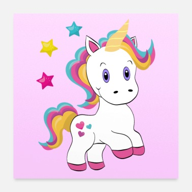 Unicorno Unicorn I`m Magical - Poster