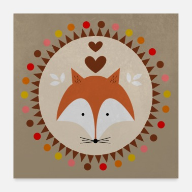 Collection For Kids Kleiner Fuchs Poster - Poster